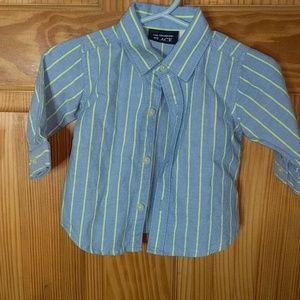 Children's Place Dress Shirt   0-3 m